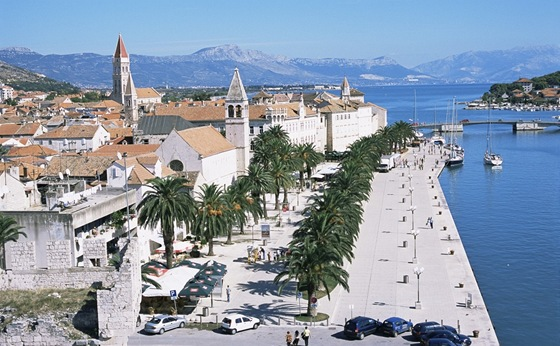 Trogir, promenda