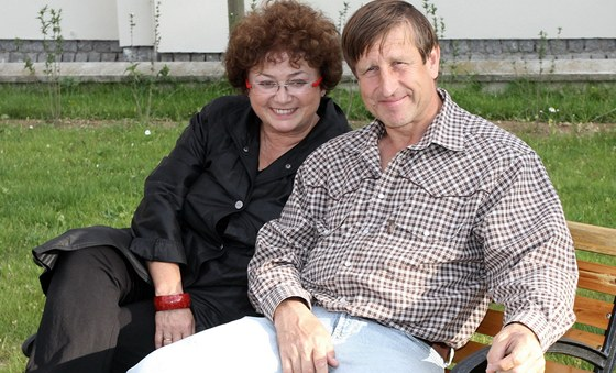 Jana Bou�kov� a V�clav Vydra (2011)