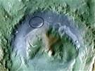 Plánovaná oblast přistání  Mars Science Laboratory