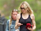 Madonna a Tracy Andersonová v době, když ještě byla její trenérka (2008)
