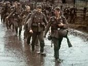 Srpen 1941. Němečtí vojáci míří na východní frontu.