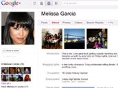 Google + (stránka profilu)