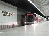 Posdlední dodaná souprava metra M1 od společnosti Siemens