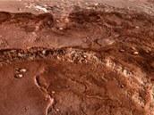 Údolí Mawrth - Jedno ze zamítnutých míst přistání sondy Mars Science Laboratory