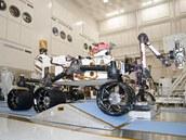 Testování vozítka Curiosity