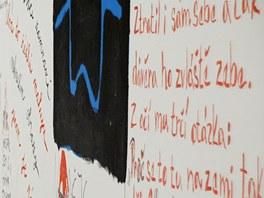 Svitavská zeď básní
