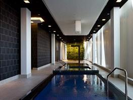 Vlastní wellness studio dnes patří ke každému luxusnímu hotelu. V hotelu Bella Sky zabírá celých 850 m2.