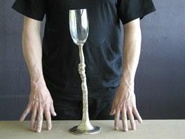 Ivan Jelínek, Pohár (stříbro, porcelán, sklo)