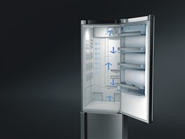 Chladničky AEG jsou vybavené beznámrazovou technologií ProFresh, díky níž si potraviny udrží téměř stoprocentní vlhkost, a tak i po týdnu v lednici zůstanou stále šťavnaté, chutné a plné vitaminů.