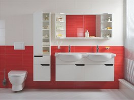 Jika p�edstavuje novou koncepci koupelnov�ho n�bytku Mio New navr�enou mlad�m
