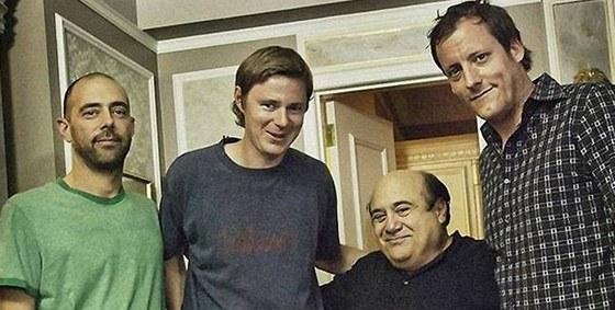 Natáčení znělky 43. ročníku MFFKV - Nick Landon, Ivan Zachariáš, Danny DeVito,