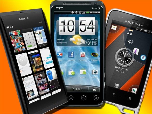P�ipravované telefony - Nokia N9, HTC Evo 3D a Sony Ericsson Active