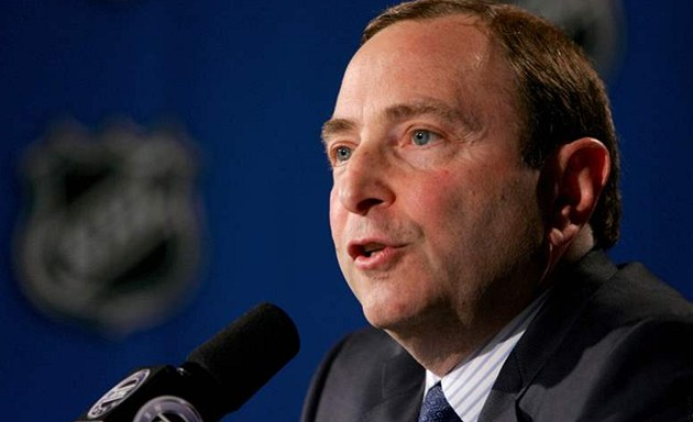 Gary Bettman, &#233;f NHL