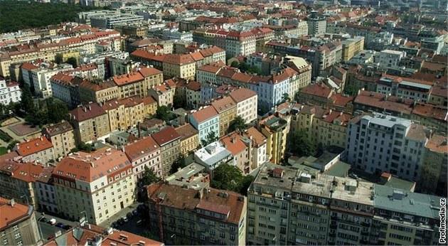 Praha, domy, byty
