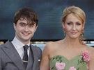 Premiéra filmu Harry Potter a Relikvie smrti - část 2: Daniel Radcliffe, J. K.
