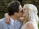 Kate Mossov� si vzala Jamieho Hinceho