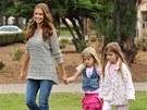 Denise Richardsová s dcerami Sam a Lolou