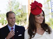 William a Kate p�ij�d�j� v Ottaw� na ceremonii, p�i n� p�es dvacet