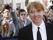Premiéra filmu Harry Potter a Relikvie smrti - část 2: Rupert Grint pózuje