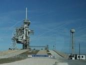 Kennedyho vesmírné centrum, startovací komplex LC-39A před poslední misí raketoplánu Discovery