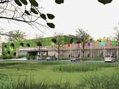 Návrh nové podoby haly, jejíž torzo už dvě desetiletí hyzdí okraj Tyršových