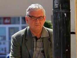Režisér Milan Šteindler natáčí v Poličce televizní detektivku.
