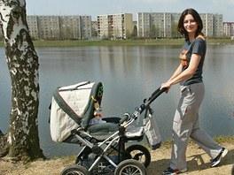 Jablonecká přehrada Mšeno je ideálně zakomponovaná do městského prostoru a je