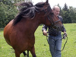Majitel farmy Hucul Ivan Karbusický