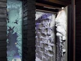 V sanáriu se můžete ochaldit v pravém sněhu.