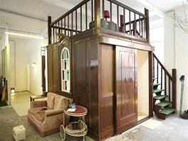 Hotel Hüttenpalast nabízí velmi zajímavé ubytování. Přespat můžete v chatkách,