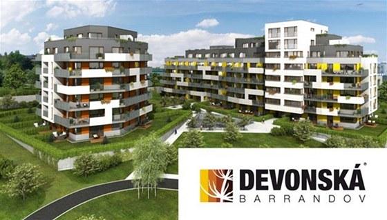Nové bytové domy Devonská-Barrandov