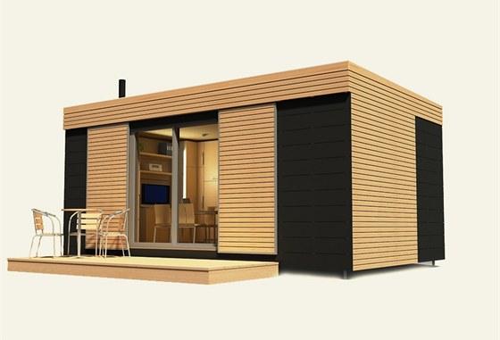 Mobilhouse firmy Domestav je zevnitř i zvnějšku velmi podobný freedomku.