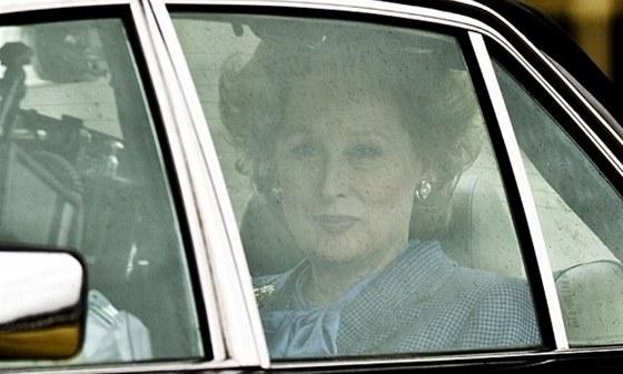 Z natáčení filmu The Iron Lady s Meryl Streepovou