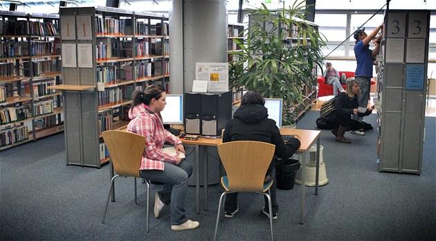 Internet v knihovn� v Liberci (ilustra�ní snímek)