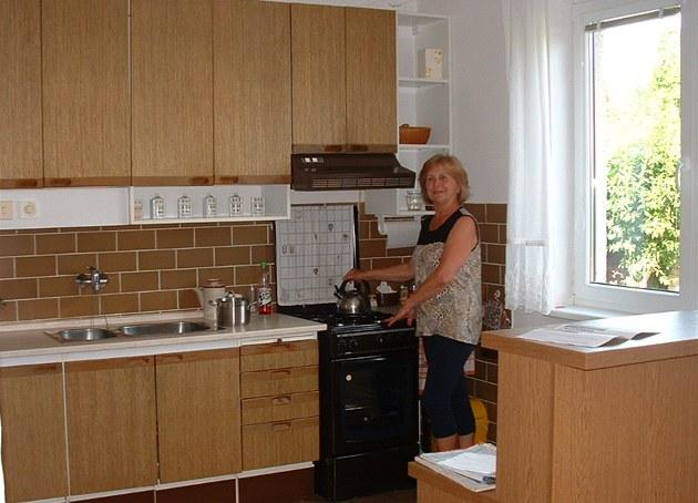 Ke své kuchyni má paní Marie tak�ka citový vztah.