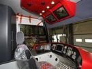 Téměř dokončená kabina tramvaje For City