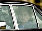 Z natáčení filmu Železná lady s Meryl Streepovou