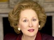Americká herečka Meryl Streepová jako Železná lady