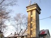 Restaurace a rozhledna na Kožově hoře u Kladna.