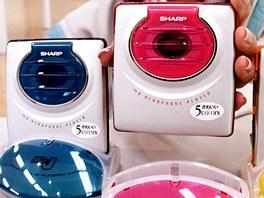 Přehrávače MiniDisc od firmy Sharp