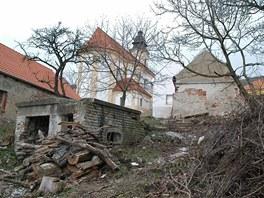 V těchto místech byly jen chlívky, dnes tu stojí dřevěný penzion.