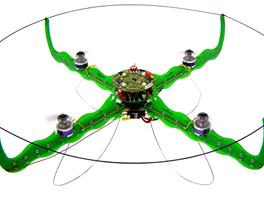 Kvadrikoptéra (Quadcopter) - vrtulník se čtyřmi vrtulemi
