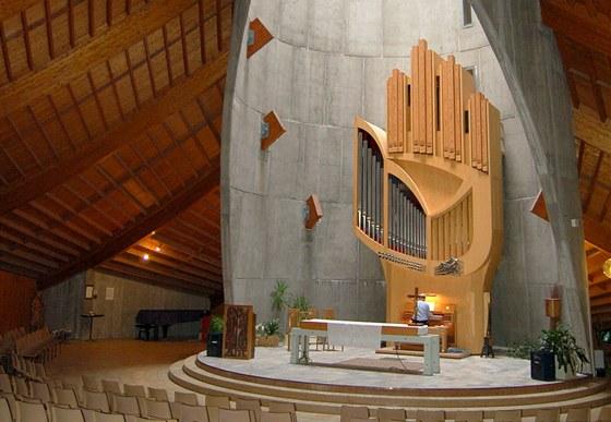 Kostel Matky Boží  Sněžné v Alpe d´Huez