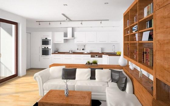 Rohové umístění dřezu architekti nedoporučují, z finančních důvodů však kuchyni