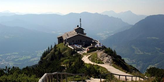 Orlí hnízdo, Hitlerova pevnost Kehlsteinhaus v Berchtesgadenu