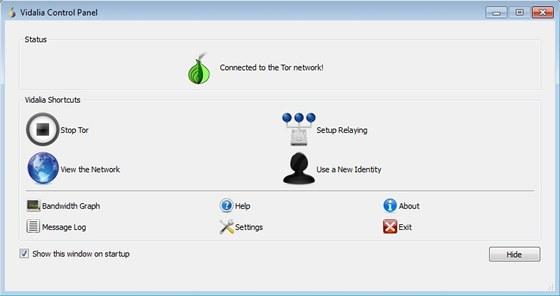 Tor - anonymní proxy servery