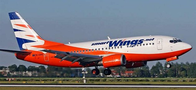 Letadlo spole�nosti SmartWings. - SmartWings.