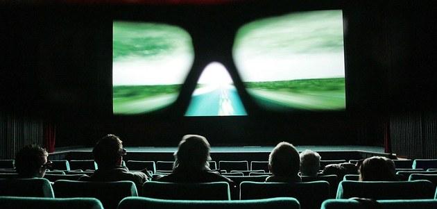Promítání 3D filmu