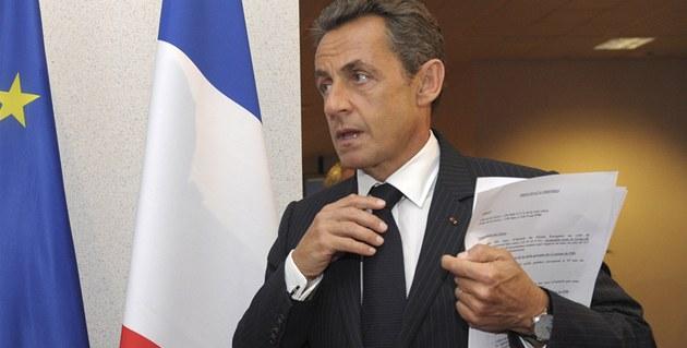 Francouzský prezident Nicolas Sarkozy v��í, �e �ecko díky opat�ením své