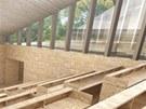 Vizualizace přednáškového sálu v Krkonošském centru environmentálního